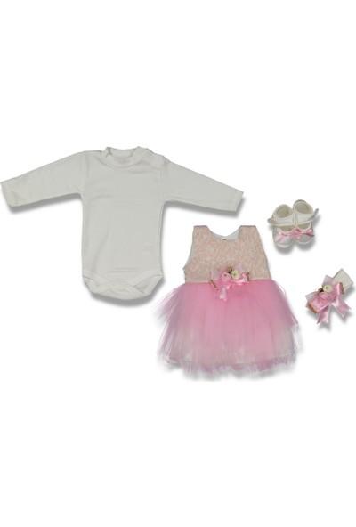 Babylia Kız Bebek Mevlüt Takımı Seti Elbise
