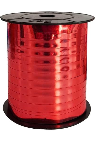 Kullan At Market Metalik Kırmızı Rafya 8mm x 200m 1 RuloKırmızı
