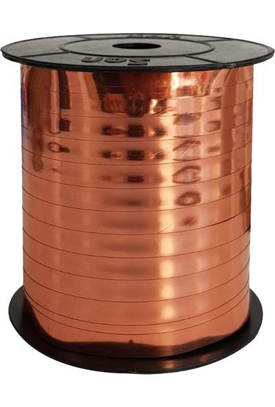 Kullan At Market Metalik Rose Gold Rafya 8mm x 200m 1 RuloRenkli