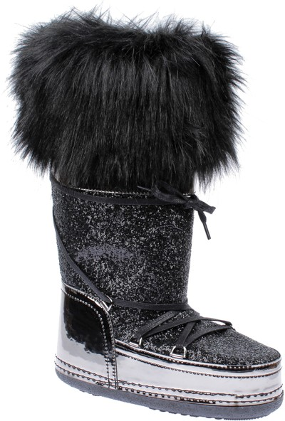 Shalin Kadın Çizme Ft 2023 Siyah