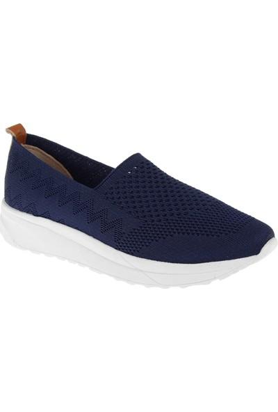 Shalin Triko Kadın Ayakkabı T2 Lacivert