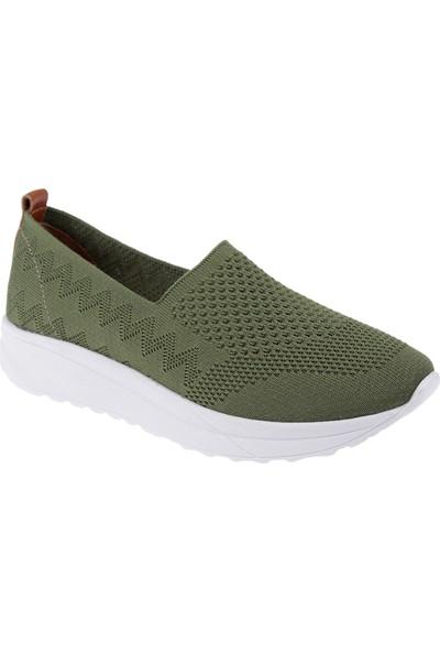 Shalin Triko Kadın Ayakkabı T2 Yeşil
