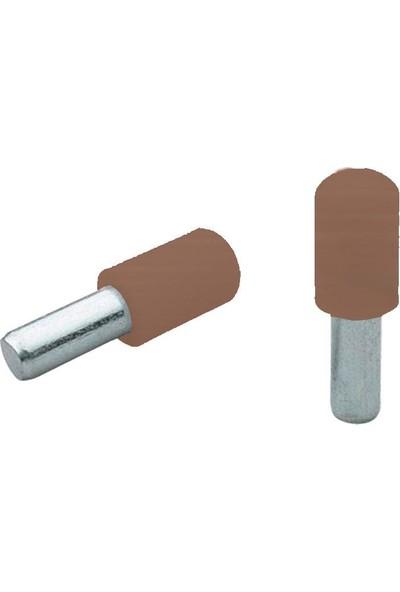 Ayder 1807-1 Plastik Başlı Metal Raf Pimi Kahve (25 Adet)