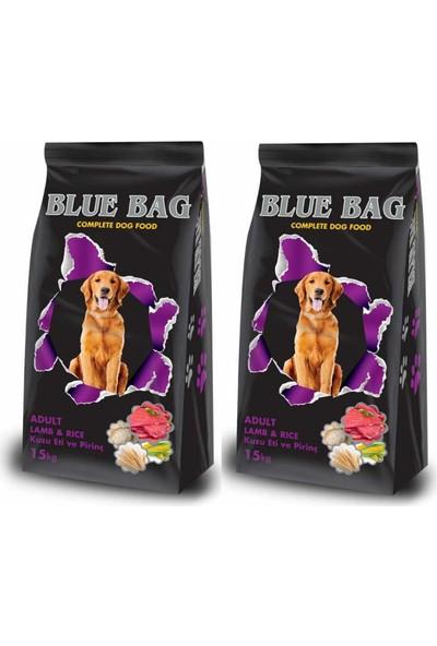 Blue Bag Kuzu Etli Yetişkin Köpek Maması 15 kg x 2' li
