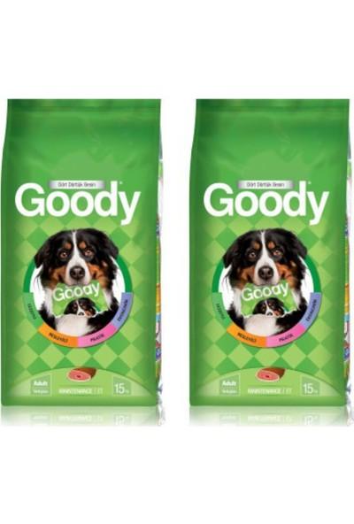Goody Etli Yetişkin Köpek Maması 15 kg x 2' li