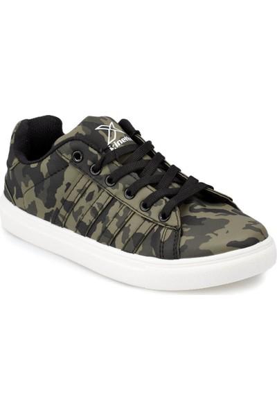 Kinetix Vulda Camo Haki Siyah Erkek Çocuk Sneaker