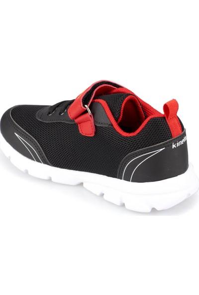 Gs Yanni Siyah - Kırmızı - Sarı Erkek Çocuk Koşu Ayakkabısı
