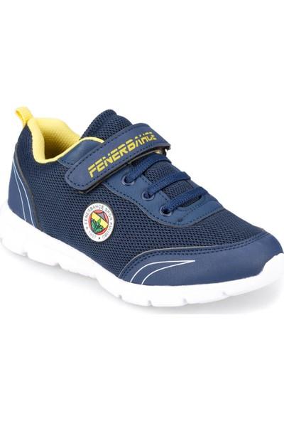 Fb Yanni Lacivert - Sarı Erkek Çocuk Koşu Ayakkabısı