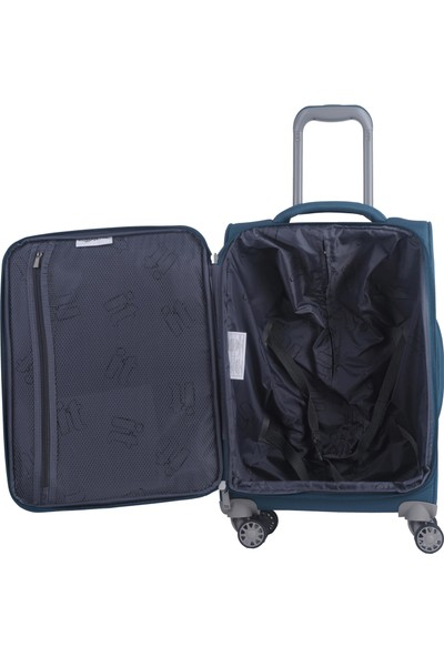 It Luggage Ultra Light Büyük Boy Kumaş Valiz Petrol 2148