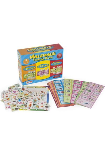 Diytoy 9239 Matematik Tombala Eğitim Oyun
