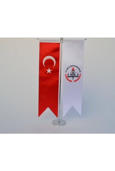 Meteor Milli Eğitim Bakanlığı Ve Türk Bayrağı Kırlangıç Masa Bayrak Takımı