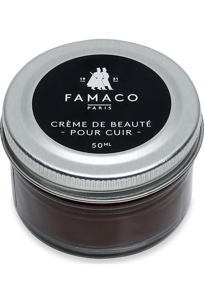 Famaco Paris Parlaklık Veren Krem Ayakkabı Boyası 50 ml Kahverengi