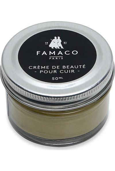 Famaco Paris Parlaklık Veren Krem Ayakkabı Boyası 50 ml Gold Altın
