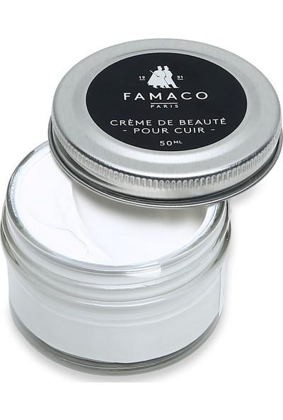Famaco Paris Parlaklık Veren Krem Ayakkabı Boyası 50 ml Beyaz