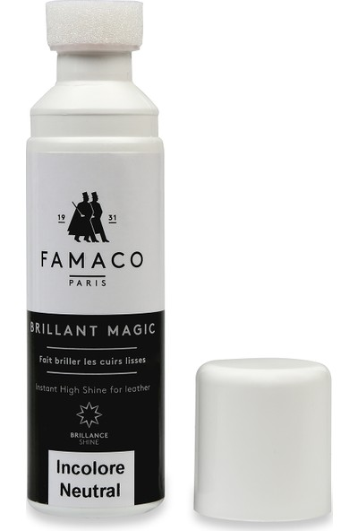 Famaco Paris Sıvı Ayakkabı Cilası 75 ml Renksiz