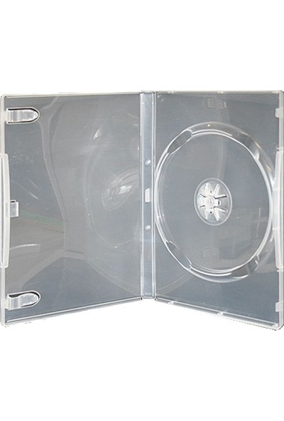 Elite Boş DVD Kutusu Şeffaf 14 mm 10'lu