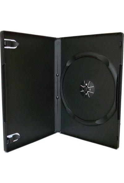 Elite Boş DVD Kutusu Siyah 14 mm 10'lu