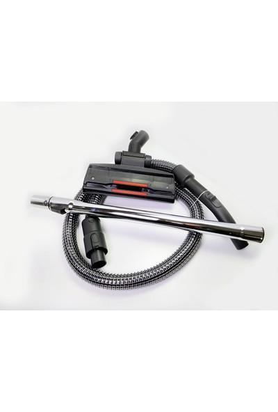 Fakir Veyron Turbo Xl Elektrikli Süpürge Çelik Telli Hortumu Emici Başlık Teleskopik Boru