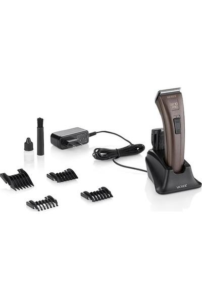Moser Genio Pro 1874-0050 Şarjlı Çift Bataryalı Saç Sakal Kesme Makinesi