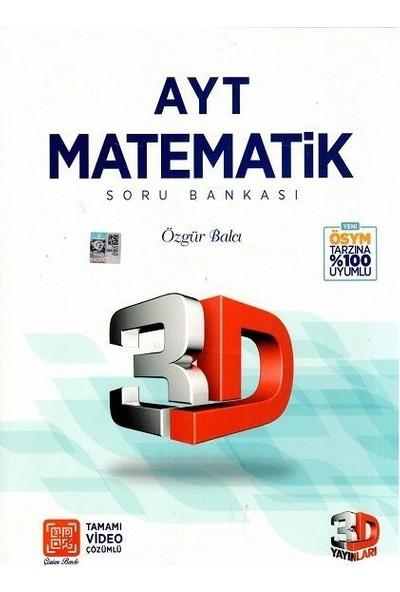 Çözüm Yayınları AYT 3D Matematik Soru Bankası