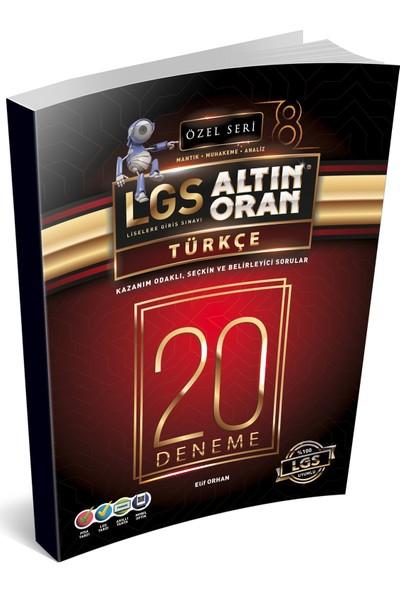 Borealis Lgs Altın Oran 8.Sınıf Türkçe 20 Denemesi