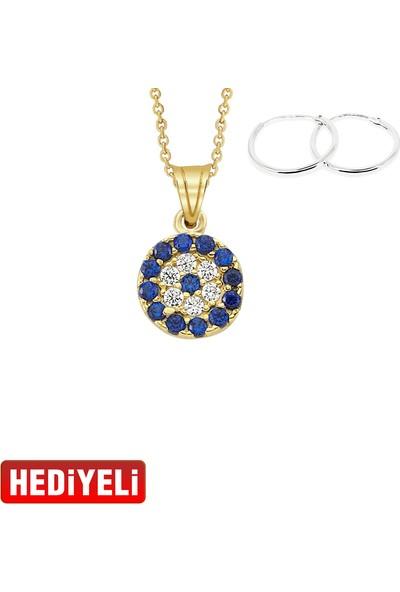 Altın Sepeti Gözlü Altın Kolye Ucu As1433Gkl