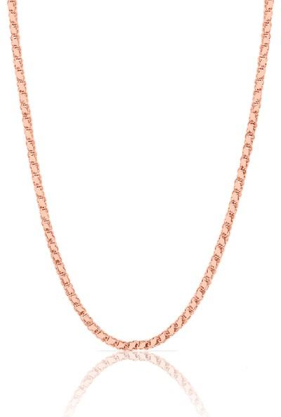 Azuris 925 Ayar Gümüş Arpa Zincir 50 Cm