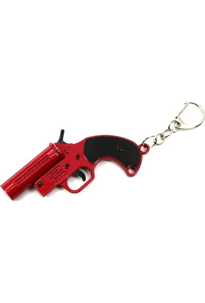 Başel Play Underground Battleground Pubg Çelik Flare Gun Anahtarlık
