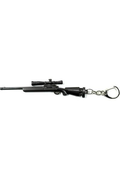 Başel Play Underground Battleground Pubg Çelik M24 Sniper Anahtarlık
