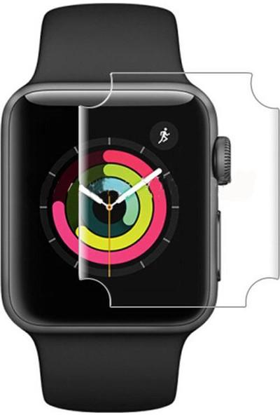 Microcase Apple Watch Series 4 40 mm Nano Glass Esnek Koruma Film