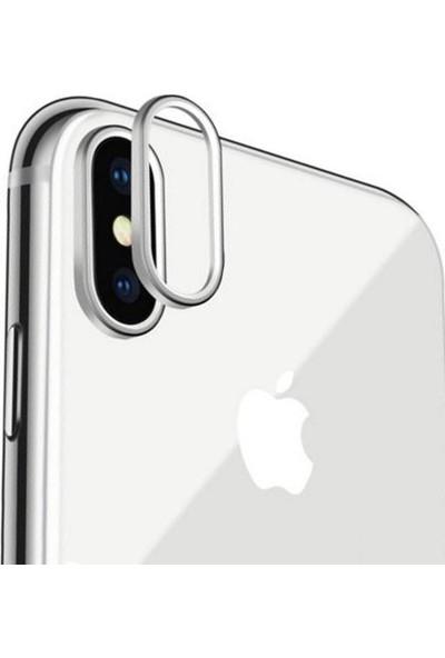 Microcase Apple iPhone X - XS Kamera Lens Koruma Halkası