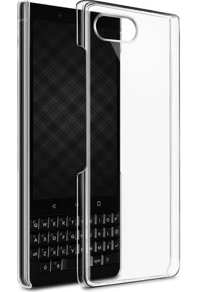 Microcase Blackberry Key2 Kristal Clear Serisi Arka Kapak Rubber Kılıf