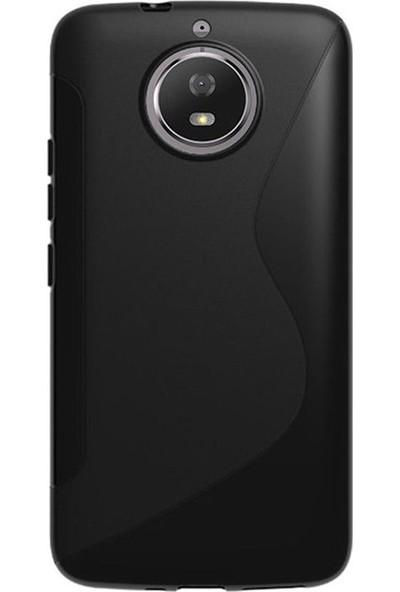 Microcase Motorola Moto G5S S Line Serisi Soft Elastik Silikon TPU Kılıf