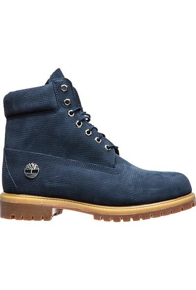 Timberland 6 İnc Premium Boot A1U89 Erkek Lacivert Waterproof
