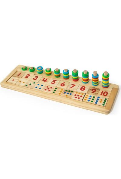 Child Wood Ahşap Matematik Oyunu