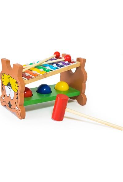 Child Wood Ahşap Ksilofon Seti