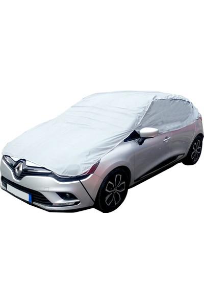 Autoen Renault Clio 4 Hb 2012- Pratik Yarım Oto Branda Kar Buz Ve Güneş Koruyucu 068