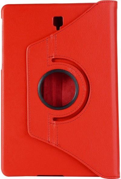 "Microcase Samsung Galaxy Tab S4 10.5"" T830 - T835 360 Derece Döner Standlı Deri Kılıf"