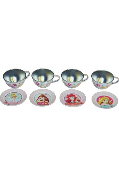 Mercan Prenses 8 Parça Çay Seti