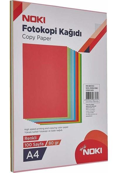 Noki Renkli Fotokopi Kağıdı 5 Renk 50 Yaprak 89106