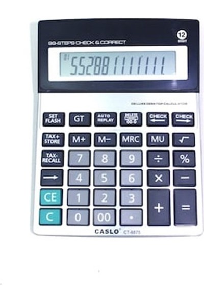 Caslo Hesap Makinesi Ct-8875