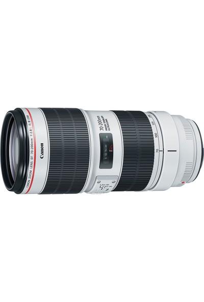 Canon Ef 70-200 Mm F2,8 L Is Iıı Usm Lens İthalatçı Garantili