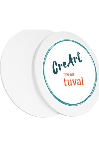 Creart 80 cm Daire Resim Tuvali
