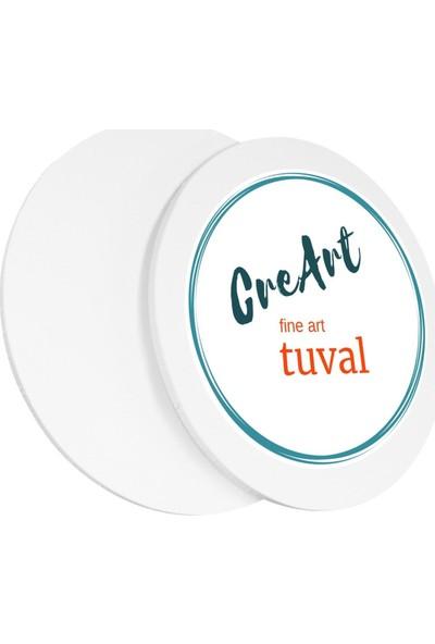 Creart 90 cm Daire Resim Tuvali