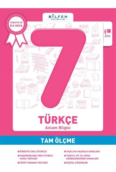 7 Sınıf Türkçe Tam Ölçme Bilfen Yayınları