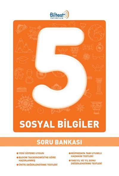 5 Sınıf Sosyal Bilgiler Soru Bankası Bilfen Yayınları