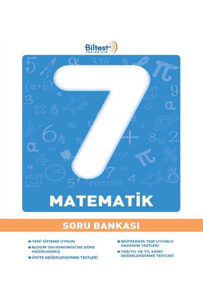 7 Sınıf Matematik Soru Bankası Bilfen Yayınları
