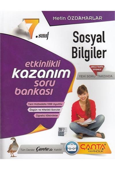 7 Sınıf Sosyal Bilgiler Etkinlikli Soru Bankası Çanta Yayınları