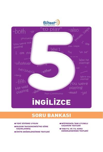 5 Sınıf İngilizce Soru Bankası Bilfen Yayınları