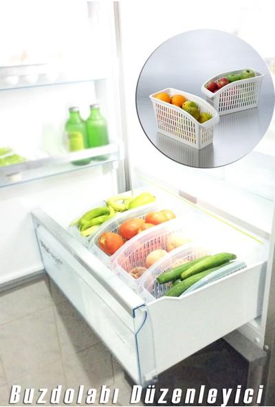 Queen's Kitchen Buzdolabı içi Sebze Meyve Düzenleyici